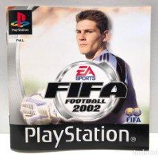 Videojuegos y Consolas: MANUAL FIFA 2002 PLAYSTATION PSX PS1 PSONE. Lote 190694895