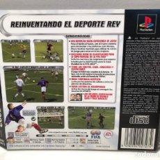 Videojuegos y Consolas: CARATULA TRASERA FIFA 2002 PLAYSTATION PSX PS1 PSONE. Lote 190694961