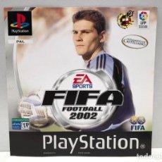 Videojuegos y Consolas: CARATULA FRONTAL FIFA 2002 PLAYSTATION PSX PS1 PSONE. Lote 190694995
