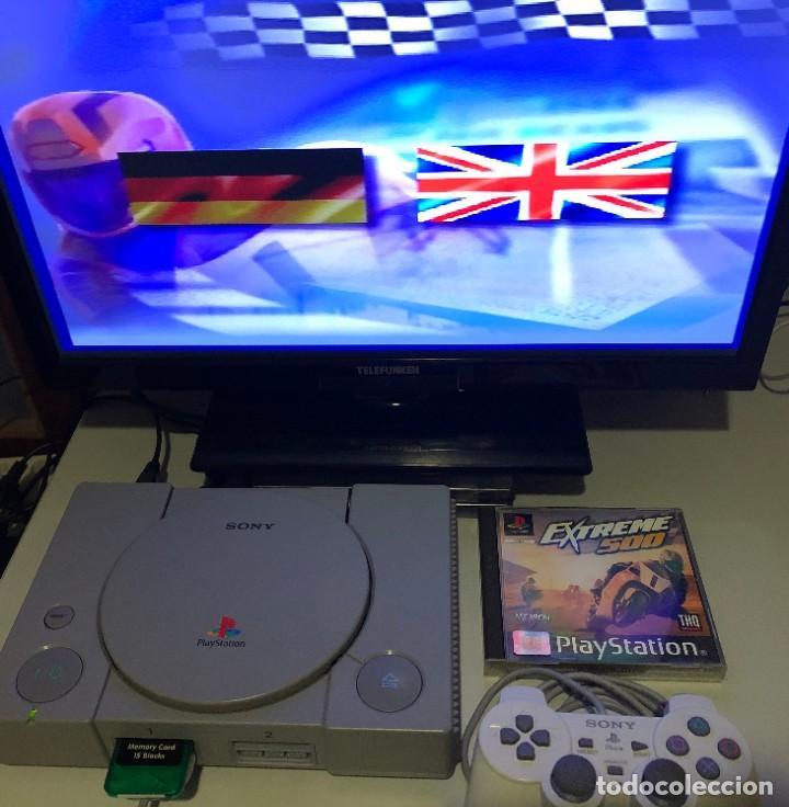 Videojuegos y Consolas: Extreme 500 PlayStation PSX PS1 PSone - Foto 3 - 190908361