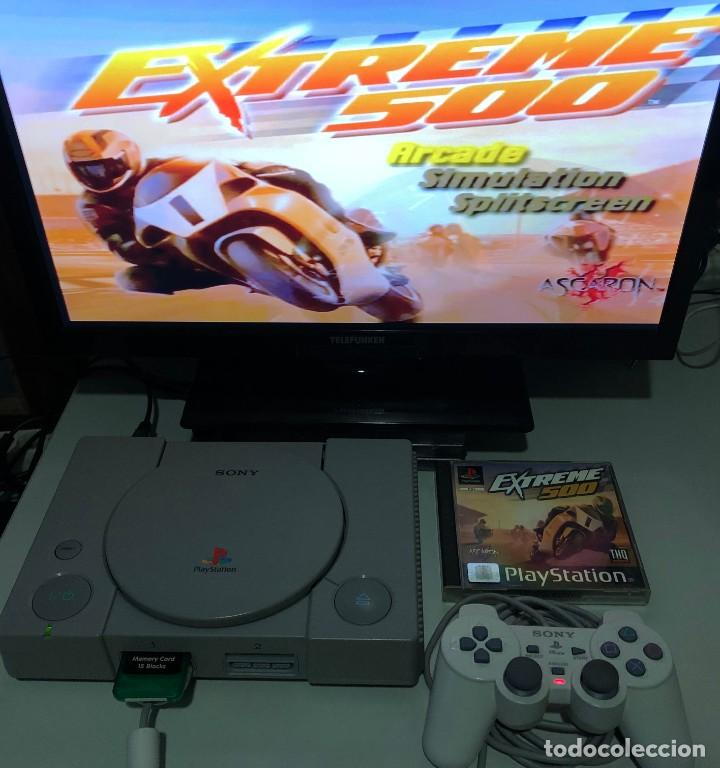 Videojuegos y Consolas: Extreme 500 PlayStation PSX PS1 PSone - Foto 4 - 190908361