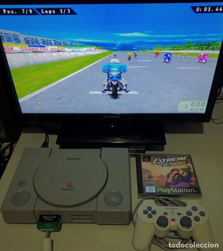 Videojuegos y Consolas: Extreme 500 PlayStation PSX PS1 PSone - Foto 5 - 190908361