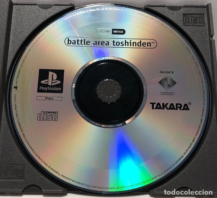BATTLE ARENA TOSHINDEN PLAYSTATION PSX PS1 PSONE (Juguetes - Videojuegos y Consolas - Sony - PS1)