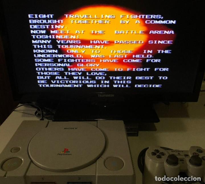 Videojuegos y Consolas: Battle Arena Toshinden PlayStation PSX PS1 PSone - Foto 3 - 191098346