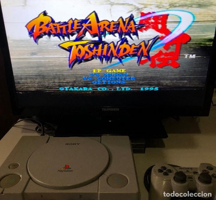 Videojuegos y Consolas: Battle Arena Toshinden PlayStation PSX PS1 PSone - Foto 4 - 191098346