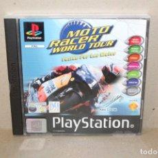 Videojuegos y Consolas: JUEGO VIDEOJUEGO PLAYSTATION PS1 - PSX PAL - MOTO RACER WORLD TOUR - COMPLETO. Lote 191191751