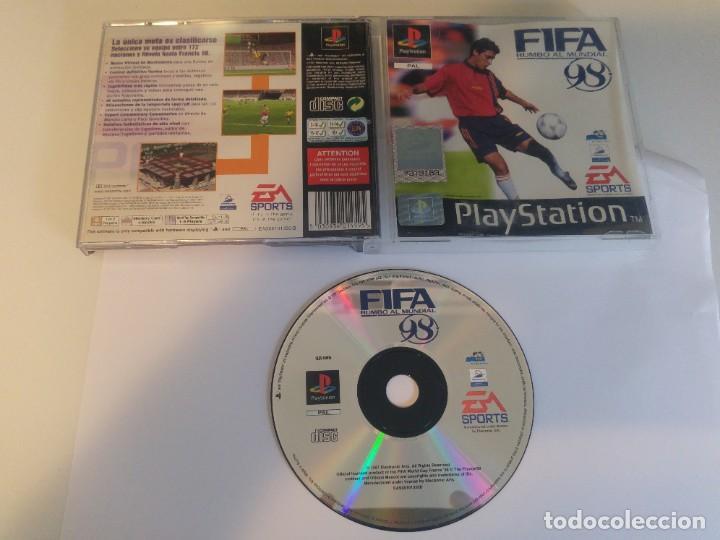 FIFA 98 RUMBO AL MUNDIAL PS1 PLAYSTATION 1 PSX PSONE PAL-ESPAÑA (Juguetes - Videojuegos y Consolas - Sony - PS1)