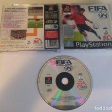 Videojuegos y Consolas: FIFA 98 RUMBO AL MUNDIAL PS1 PLAYSTATION 1 PSX PSONE PAL-ESPAÑA. Lote 191353547