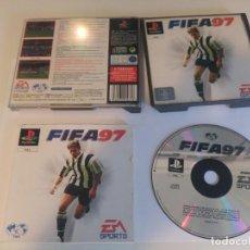 Videojuegos y Consolas: FIFA 97 PS1 PLAYSTATION 1 PSX PSONE PAL-ESPAÑA COMPLETO . Lote 191353726