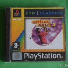 Videojuegos y Consolas: ACTUA GOLF 3 Y STREET SOCCER. Lote 191731380