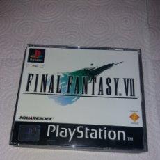 Videojuegos y Consolas: FINAL FANTASY VII PAL PLAYSTATION 1. Lote 191990511
