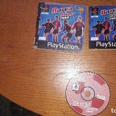 Videojuegos y Consolas: JUEGO PLAYSTATION BARCA MANAGER 2000. Lote 192214642