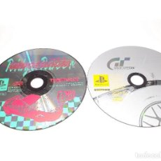 Videojuegos y Consolas: PSX LOTE JUEGOS RIDGE RACER Y GRAN TURISMO VERSION JAPONESA PSONE PLAYSTATION . Lote 192847278