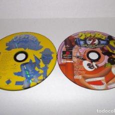 Videojuegos y Consolas: PSX LOTE JUEGOS CRASH BANDICOOT CARNIVAL Y CRASH BANDICOOT 2 VERSION JAPONESAS PSONE PLAYSTATION. Lote 192847310
