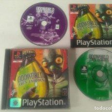 Jeux Vidéo et Consoles: ODDWORLD ABE'S EXODUS PARA PS1 PS2 Y PS3 ENTRE Y MIRE MIS OTROS JUEGOS!. Lote 193242953