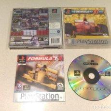 Videojuegos y Consolas: FORMULA 1 97 PLAYSTATION SONY PS1 PAL-ESPAÑA . Lote 193422507