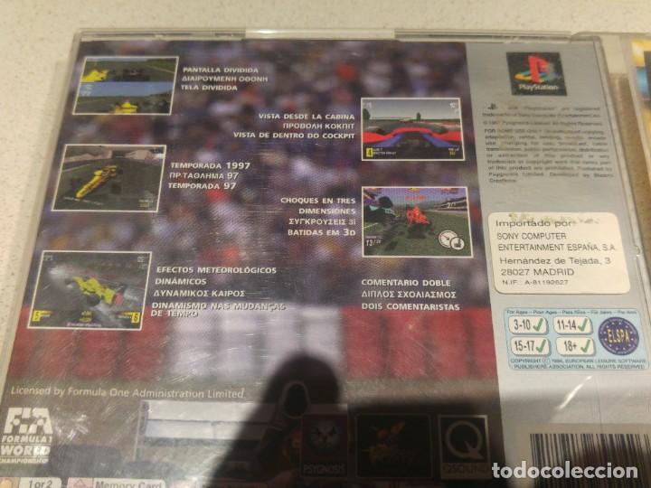 Videojuegos y Consolas: FORMULA 1 97 PLAYSTATION SONY PS1 PAL-ESPAÑA - Foto 2 - 193422507