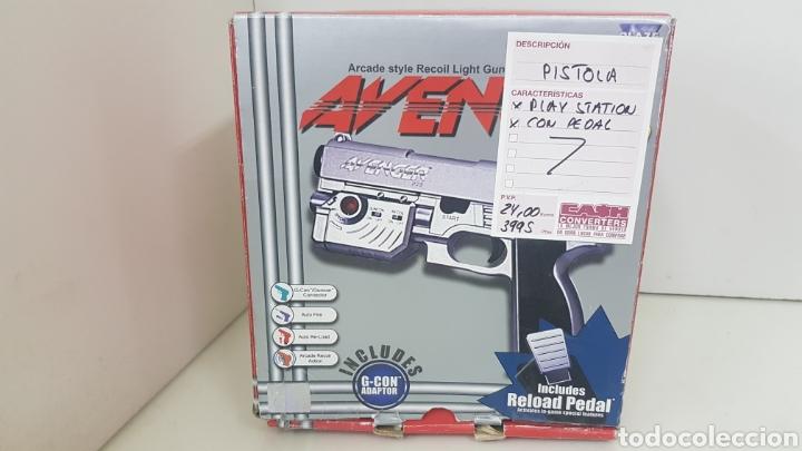 PISTOLA CON PEDAL PLAY STATION AVENGER PRO (Juguetes - Videojuegos y Consolas - Sony - PS1)
