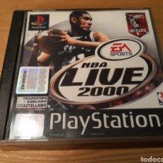 Videojuegos y Consolas: NBA LIVE 2000 PLAYSTATION. Lote 194138927