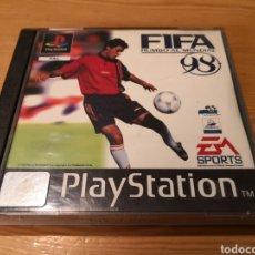 Videojuegos y Consolas: FIFA RUMBO AL MUNDIAL 98 PLAYSTATION. Lote 194140032