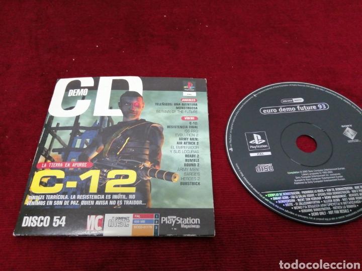 EURO DEMO FUTURE 93 (Juguetes - Videojuegos y Consolas - Sony - PS1)