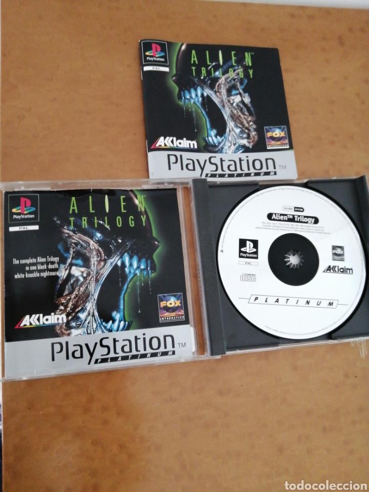 ALIEN TRILOGY (Juguetes - Videojuegos y Consolas - Sony - PS1)