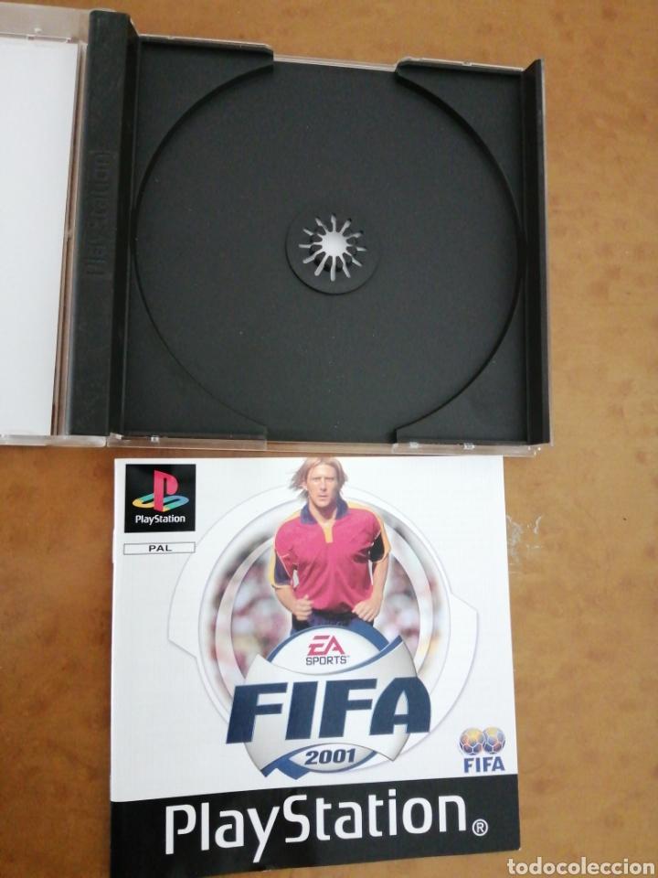 FIFA 2001 (Juguetes - Videojuegos y Consolas - Sony - PS1)