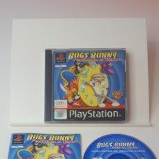 Videojuegos y Consolas: BUGS BUNNY PERDIDO EN EL TIEMPO PS1. Lote 194209951