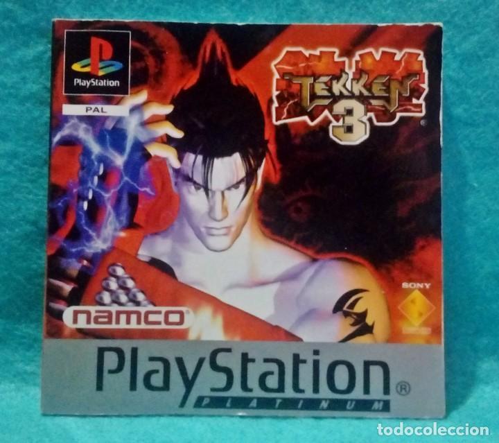 MANUAL PARA EL JUEGO * TEKKEN 3 * - PLAYSTATION 1 . BUEN ESTADO. (Juguetes - Videojuegos y Consolas - Sony - PS1)