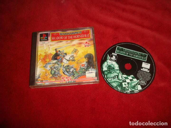 WARHAMMER SHADOW OF THE HORNED RAT PS1 PLAYSTATION ONE 1 (Juguetes - Videojuegos y Consolas - Sony - PS1)