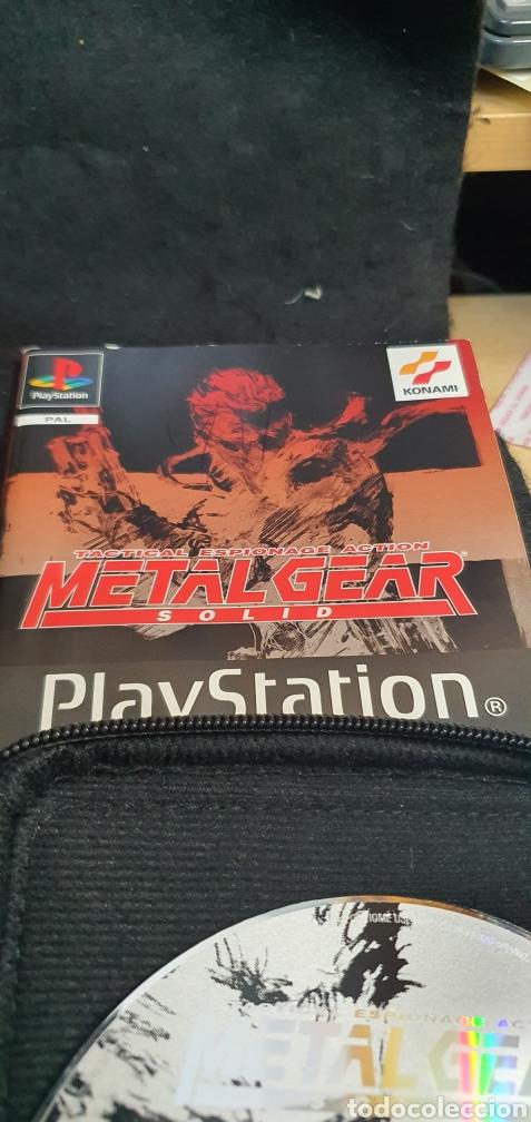 Videojuegos y Consolas: SONY PSX PS1 METAL GEAR SOLID - Foto 4 - 194311490