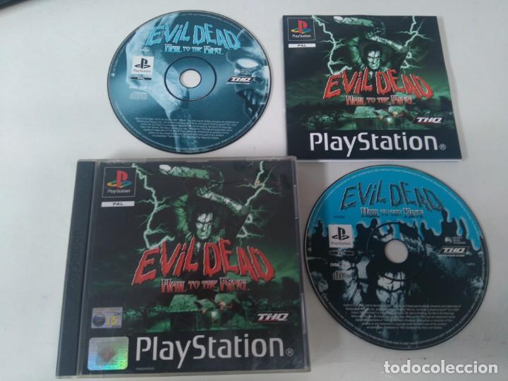 EVIL DEAD PARA PS1 PS2 Y PS3 EN MUY BUEN ESTADO ENTRE Y MIRE MIS OTROS ARTÍCULOS (Juguetes - Videojuegos y Consolas - Sony - PS1)