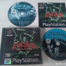 Videojuegos y Consolas: EVIL DEAD PARA PS1 PS2 Y PS3 EN MUY BUEN ESTADO ENTRE Y MIRE MIS OTROS ARTÍCULOS. Lote 194326686