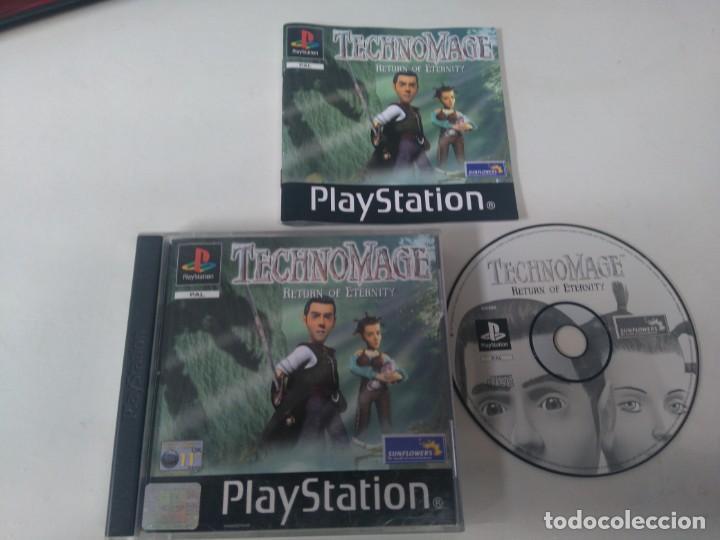 TECHNOMAGE RETURN OF ETERNITY PARA PS1 PS2 Y PS3 ENTRE Y MIRE MIS OTROS ARTÍCULOS (Juguetes - Videojuegos y Consolas - Sony - PS1)