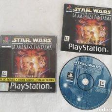 Videojuegos y Consolas: STAR WARS LA AMENAZA FANTASMA PARA PS1. Lote 194349808