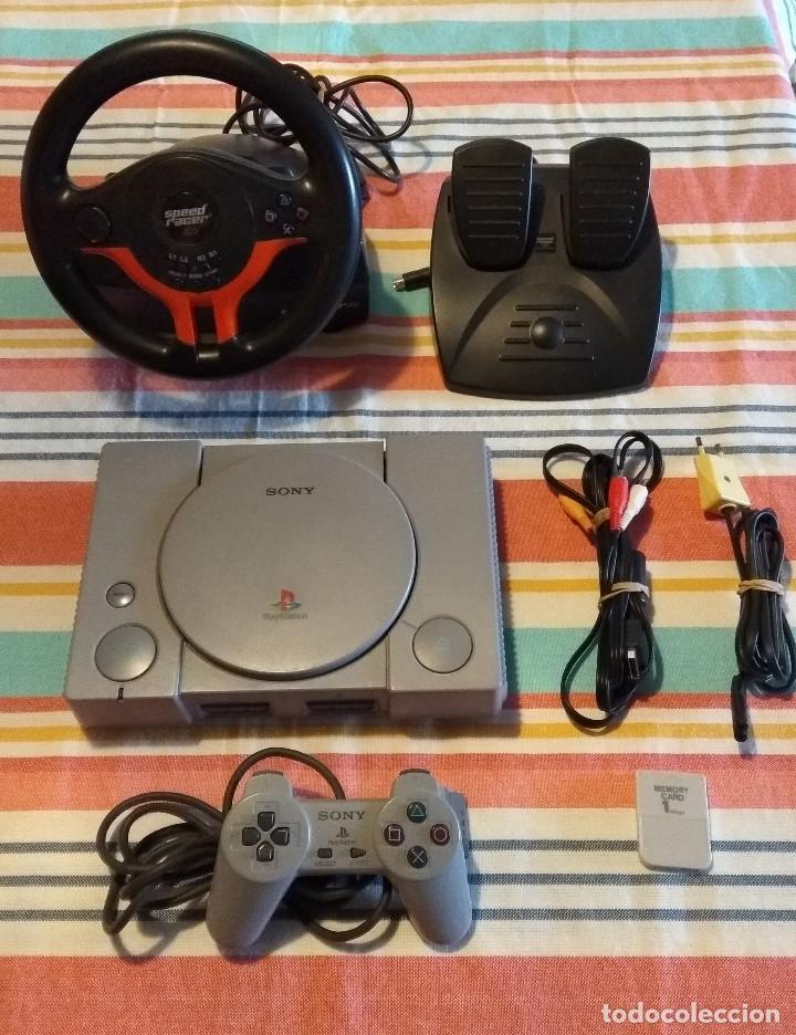 PS1 PLAYSTATION 1 CON ACCESORIOS (Juguetes - Videojuegos y Consolas - Sony - PS1)