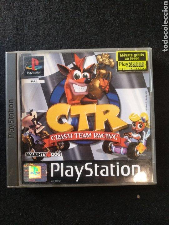 Videojuegos y Consolas: Juego PlayStation CTR Crash team Racing Pal, PS1 - Foto 2 - 194392621