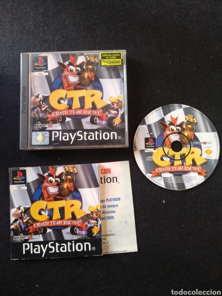 JUEGO PLAYSTATION CTR CRASH TEAM RACING PAL, PS1 (Juguetes - Videojuegos y Consolas - Sony - PS1)