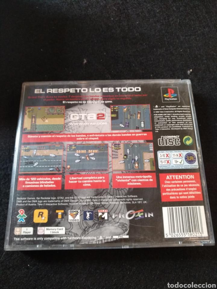 Videojuegos y Consolas: GTA 2, PlayStation, Pal, PS1 - Foto 3 - 194395842