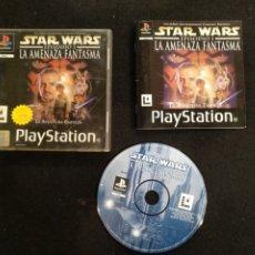 Videojuegos y Consolas: PLAYSTATION STAR WARS, EPISODIO I, PS1 LA AMENAZA FANTASMA. Lote 194505770
