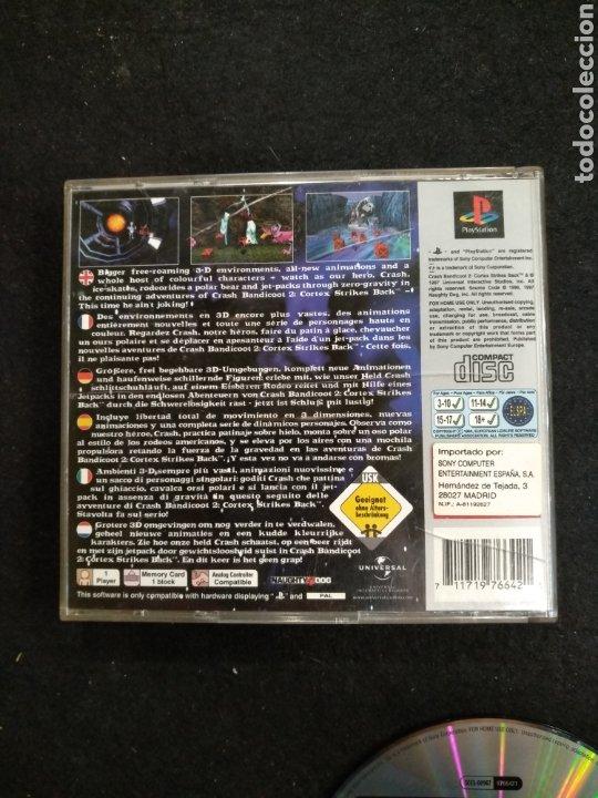 Videojuegos y Consolas: PlayStation Crash Bandicoot 2, Pal, PS1 - Foto 2 - 194507755