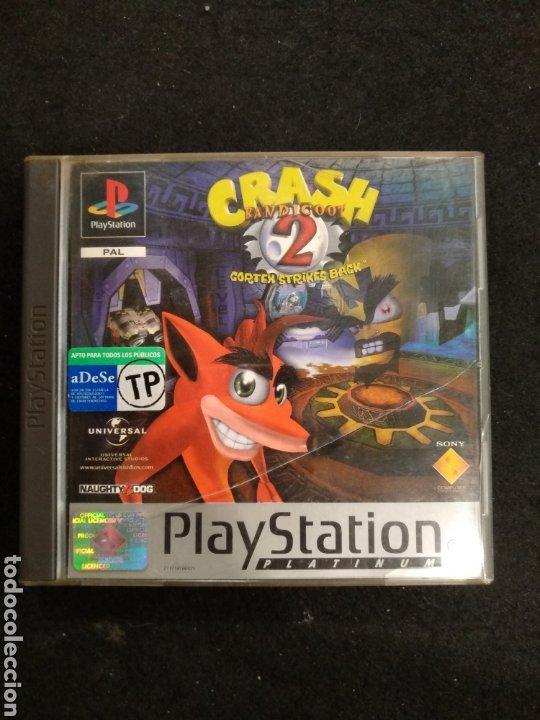 Videojuegos y Consolas: PlayStation Crash Bandicoot 2, Pal, PS1 - Foto 3 - 194507755