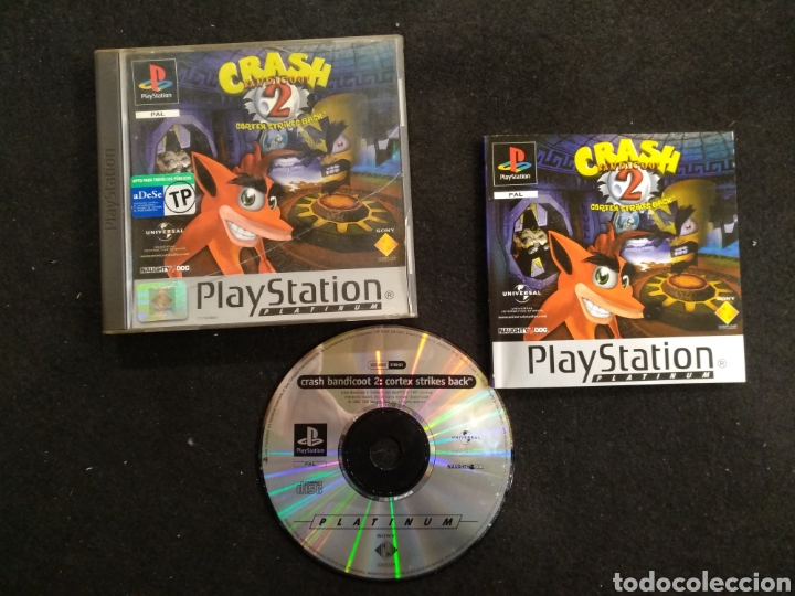PLAYSTATION CRASH BANDICOOT 2, PAL, PS1 (Juguetes - Videojuegos y Consolas - Sony - PS1)