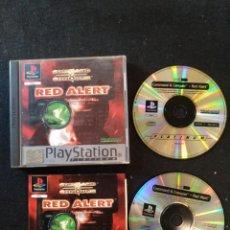 Videojuegos y Consolas: PLAYSTATION RED ALERT COMAND CONQUER, PAL, PS1. Lote 194570555