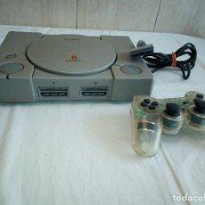 Videojuegos y Consolas: 3-CONSOLA PLAY STATION 1 + MANDO. Lote 194586457