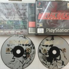 Videojuegos y Consolas: METAL GEAR SOLID PSX PLAYSTATION 1 PLAY STATION ONE PSONE KREATEN. Lote 194603026