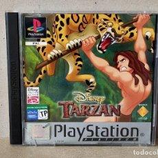 Videojuegos y Consolas: JUEGO VIDEOJUEGO PLAYSTATION PS1 - PSX PAL - DISNEY TARZAN - COMPLETO. Lote 194603767