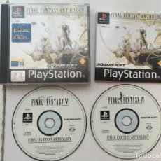 Videojuegos y Consolas: FINAL FANTASY ANTHOLOGY PSX PLAYSTATION 1 PLAY STATION ONE PSONE KREATEN. Lote 194604572