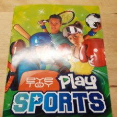 Videojuegos y Consolas: MANUAL ESPAÑOL DEL EYE TOY PLAY SPORTS. Lote 194625576