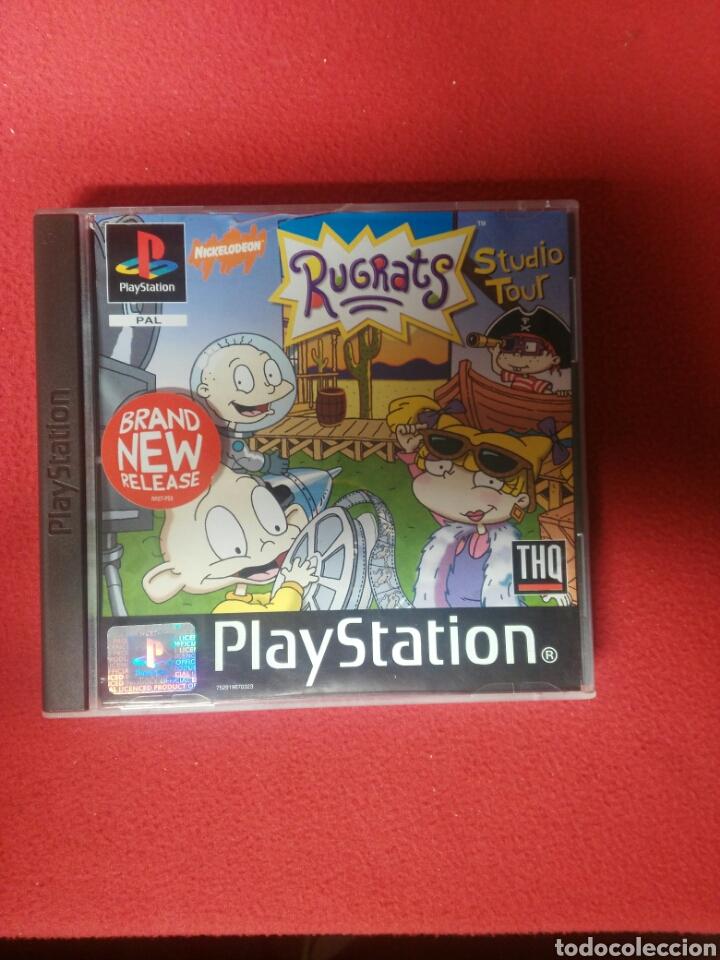 RUGRATS STUDIO TOUR (Juguetes - Videojuegos y Consolas - Sony - PS1)